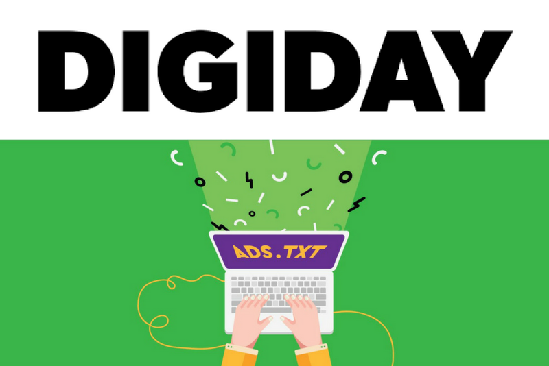 Ross Benes of Digiday refers to data from FirstImpression.io's Ads.txt Industry Dashboard